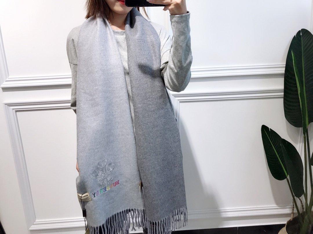 双面羊绒彩色刺绣强货2019最新出口