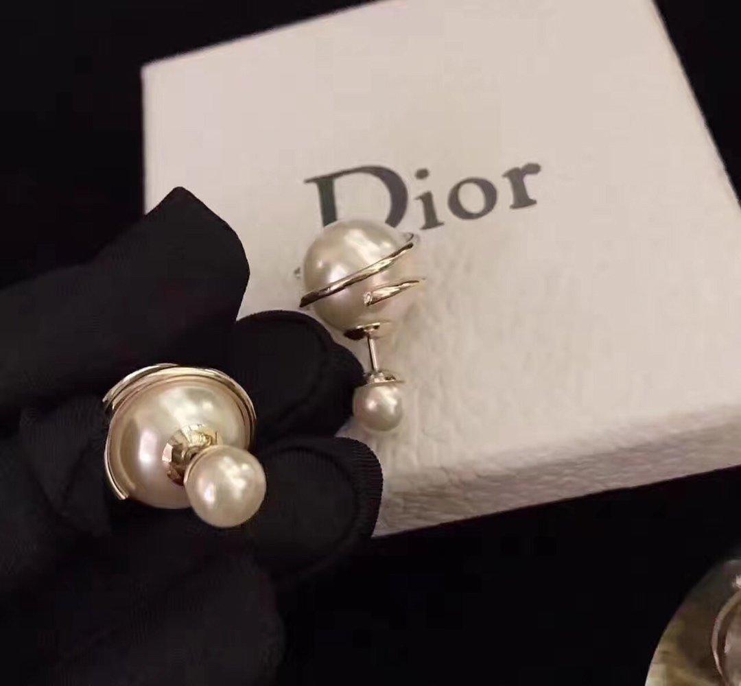 新款Dior迪奥cd复古做旧金属和琉