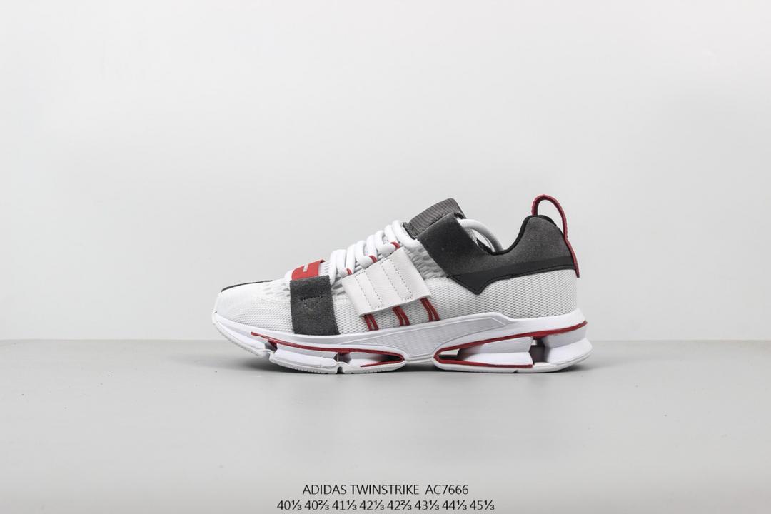 阿迪达斯Adidas Consortium Twinstrike ADV A3大底系列解构主义复古慢跑球鞋货号:AC7666 f071bf1388eb