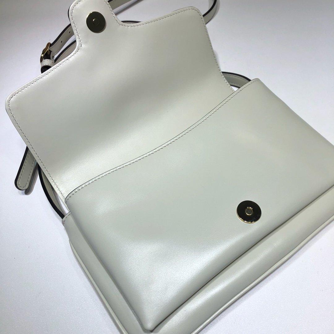 GUCCI新款专柜品质,顶级原单货,实物实拍 款号550129米白(图8)