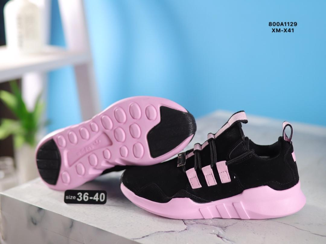 f61cbfe0b2a89 Adidas Equipment Support Adv EQT Pig Eight Leather Joker Casual Jogging  Shoes True Label with Half Code ...