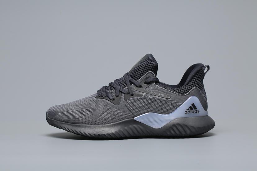 ?320ADIDAS ALPHABOUNCE EM M 阿尔法 CG4766 黑灰 男鞋尺码:40 40.5 41 42 42.5 43 44 44.5 45