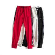 新品上新 回馈代理 特价包邮3999元专柜同款上市本季主打货源充足放心主推高端品质即转即卖品牌彪马款号5988彪马长裤颜色黑色白色红色尺码M3X