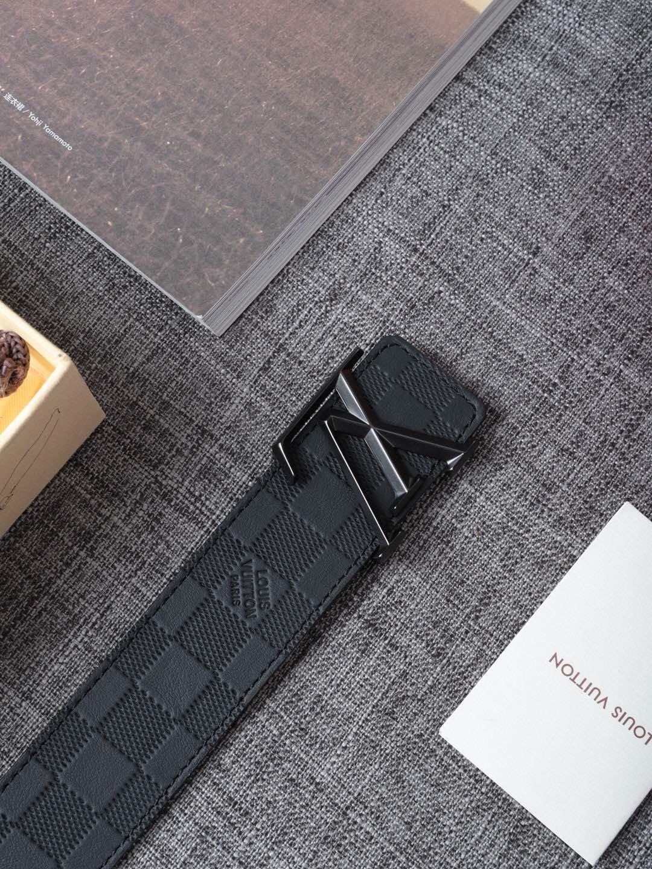 Louis Vuitton 独家免税店渠道货 LV腰带格子 系列 (图5)