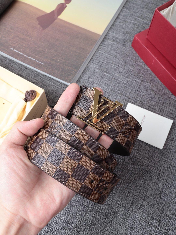 Louis Vuitton 独家免税店渠道货 LV腰带格子 系列 (图8)
