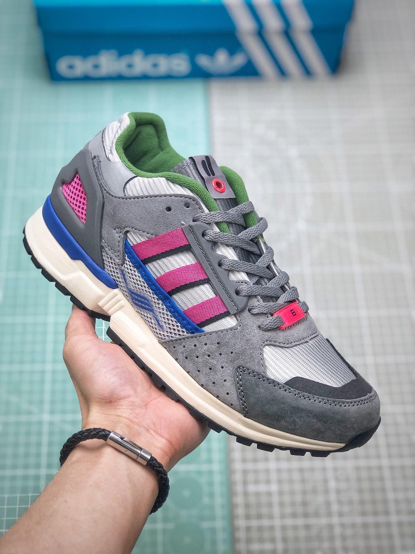 get online 100% genuine good selling Adidas Consortium ZX 10.000 C EQT4代ZX10000 联名限量款专柜 ...