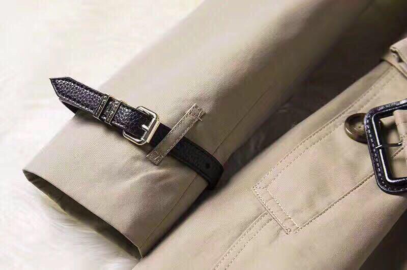 Burberry英伦风春秋新款风衣 市场高端版本 专柜同步发售(图8)