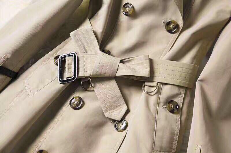 Burberry英伦风春秋新款风衣 市场高端版本 专柜同步发售(图7)