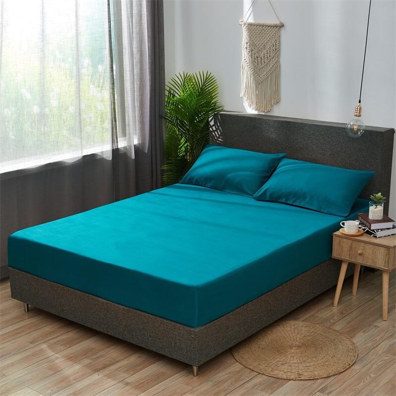 全棉素色床笠 5个色