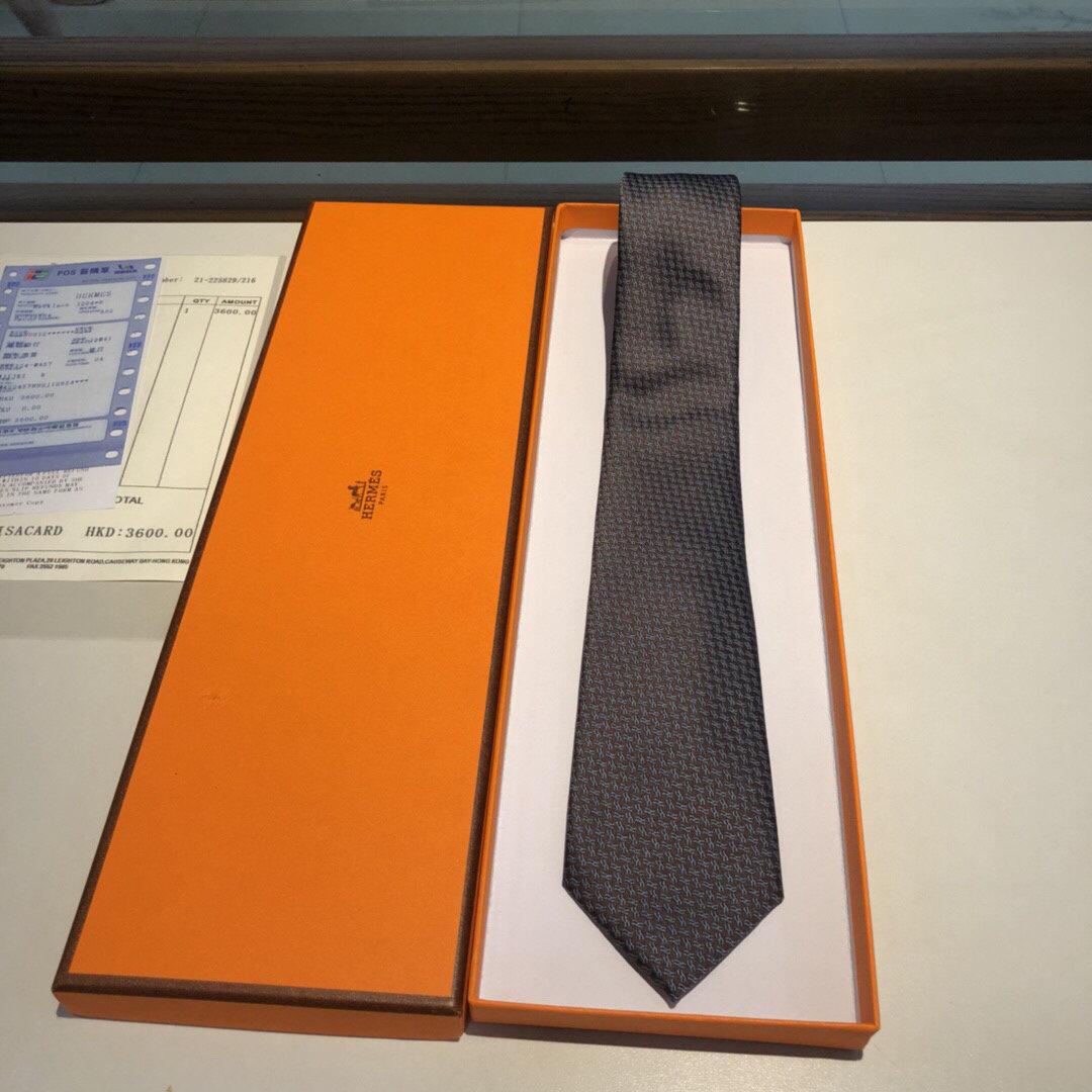 配包装领带新款出货啦爱马仕2019男