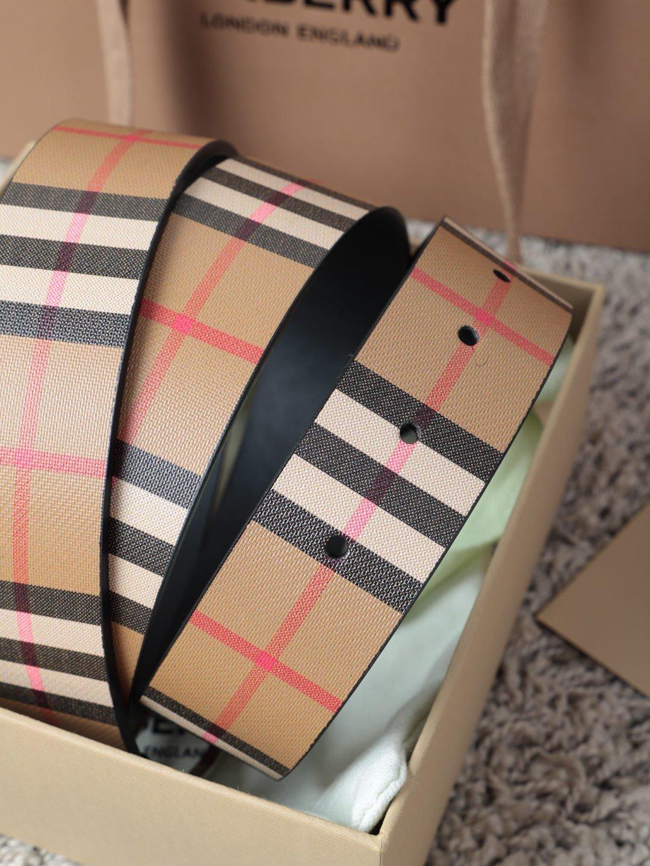 巴宝莉Burberry休闲款原单质量,新款男士腰带专柜同步新款(图4)