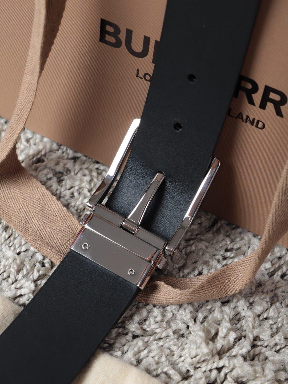 巴宝莉Burberry休闲款原单质量,新款男士腰带专柜同步新款(图6)