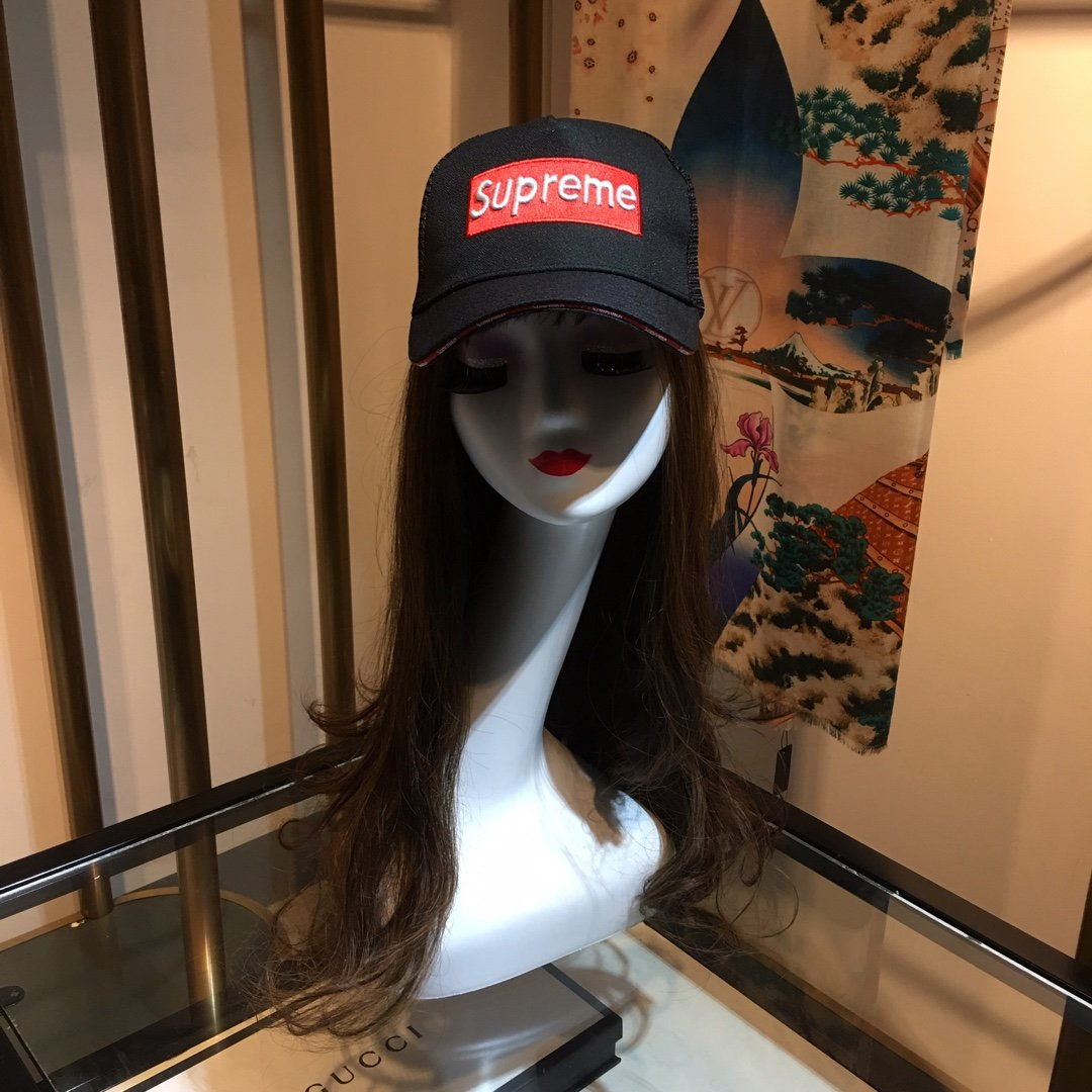 superme与LV联名款棒球帽高品