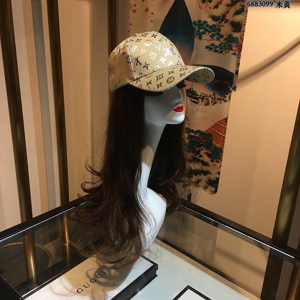 LV高端棒球帽满帽印纹高品质款最新单