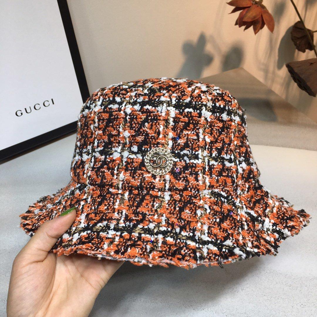 CHANEL香奈儿渔夫帽欧美时尚款女