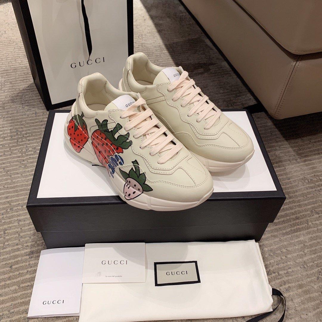 Gucci全新升级 小脏鞋时尚休闲老爹鞋男女款专柜同款(图12)