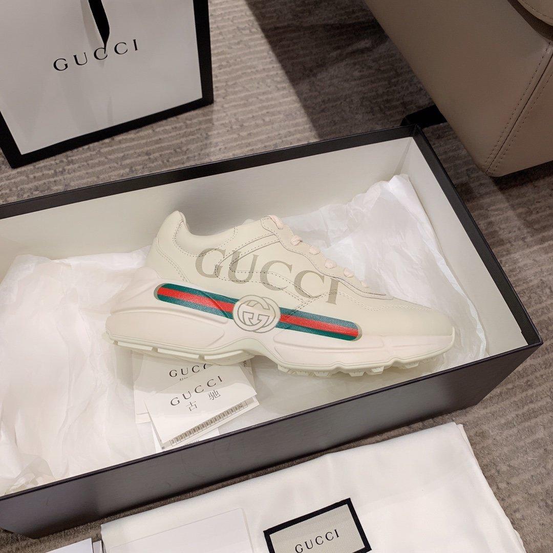 Gucci全新升级 小脏鞋时尚休闲老爹鞋男女款专柜同款(图15)