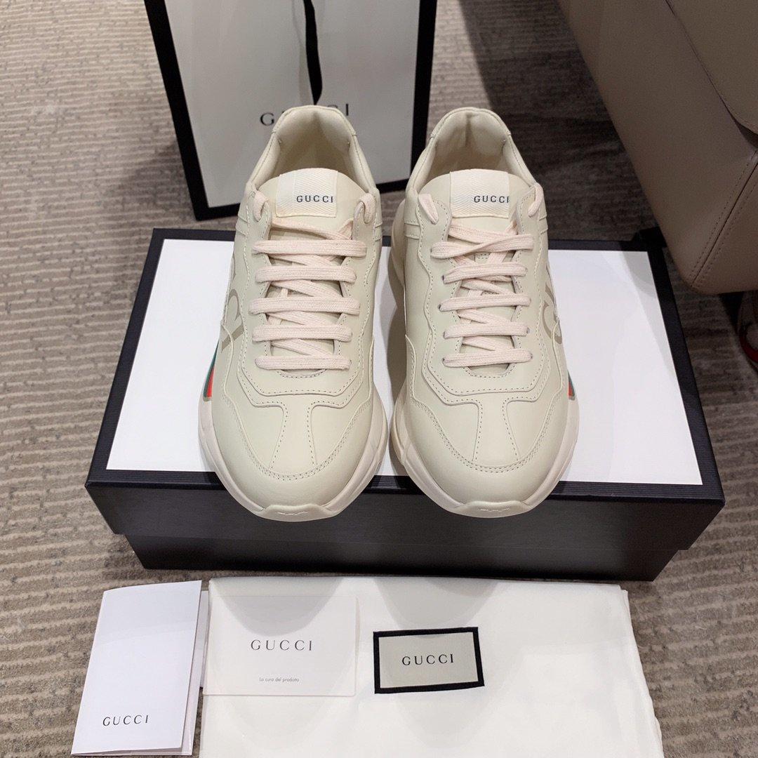 Gucci全新升级 小脏鞋时尚休闲老爹鞋男女款专柜同款(图14)