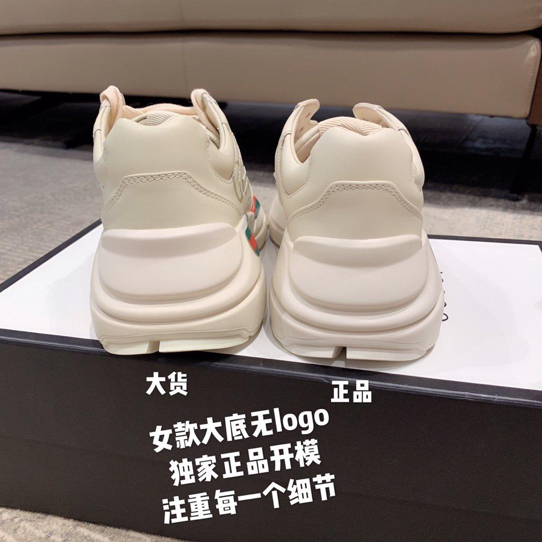 Gucci全新升级 小脏鞋时尚休闲老爹鞋男女款专柜同款(图10)