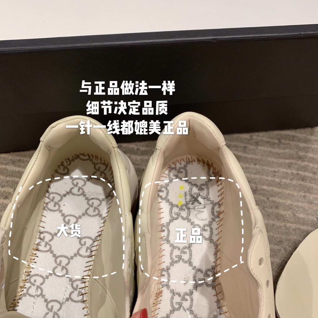 Gucci全新升级 小脏鞋时尚休闲老爹鞋男女款专柜同款(图9)