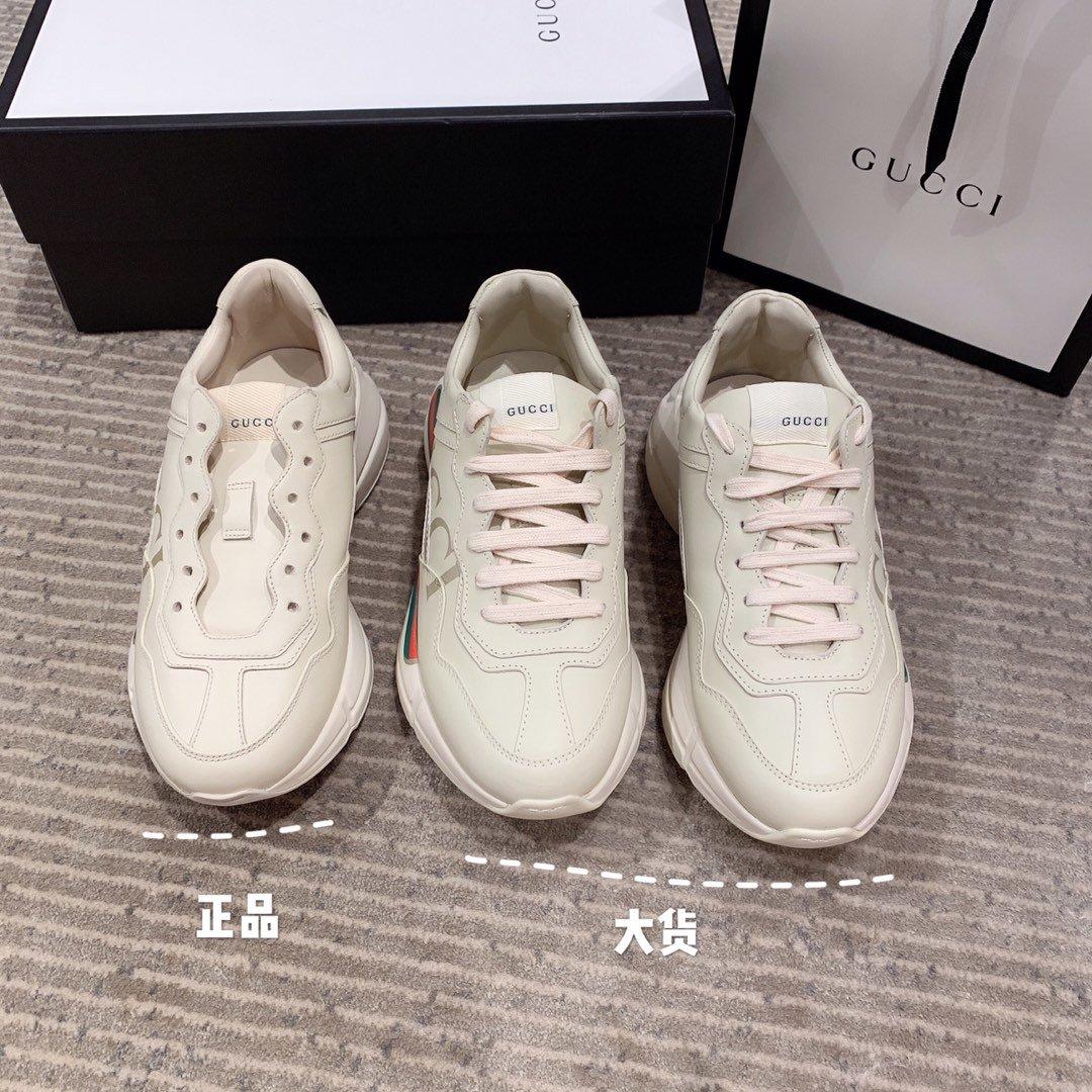 Gucci全新升级 小脏鞋时尚休闲老爹鞋男女款专柜同款(图6)