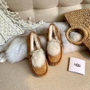 230  UGG 1019015 全新专柜同步托斯卡纳毛球豆Col栗色山羊灰暮色粉Size354
