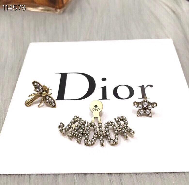 DIOR迪奥个性密蜂耳钉独特设计各种