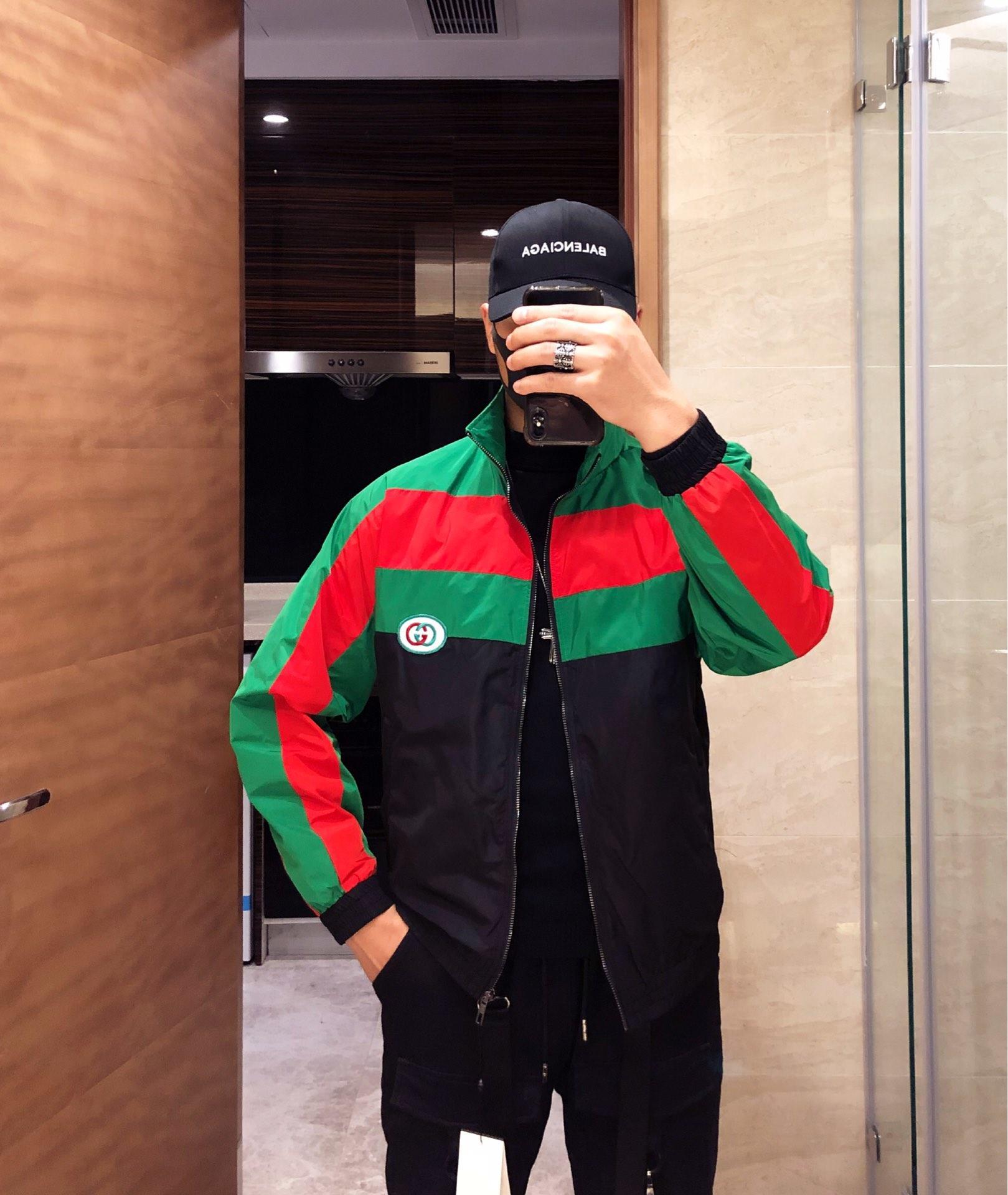 %原单夹克外套Gucci古奇2019