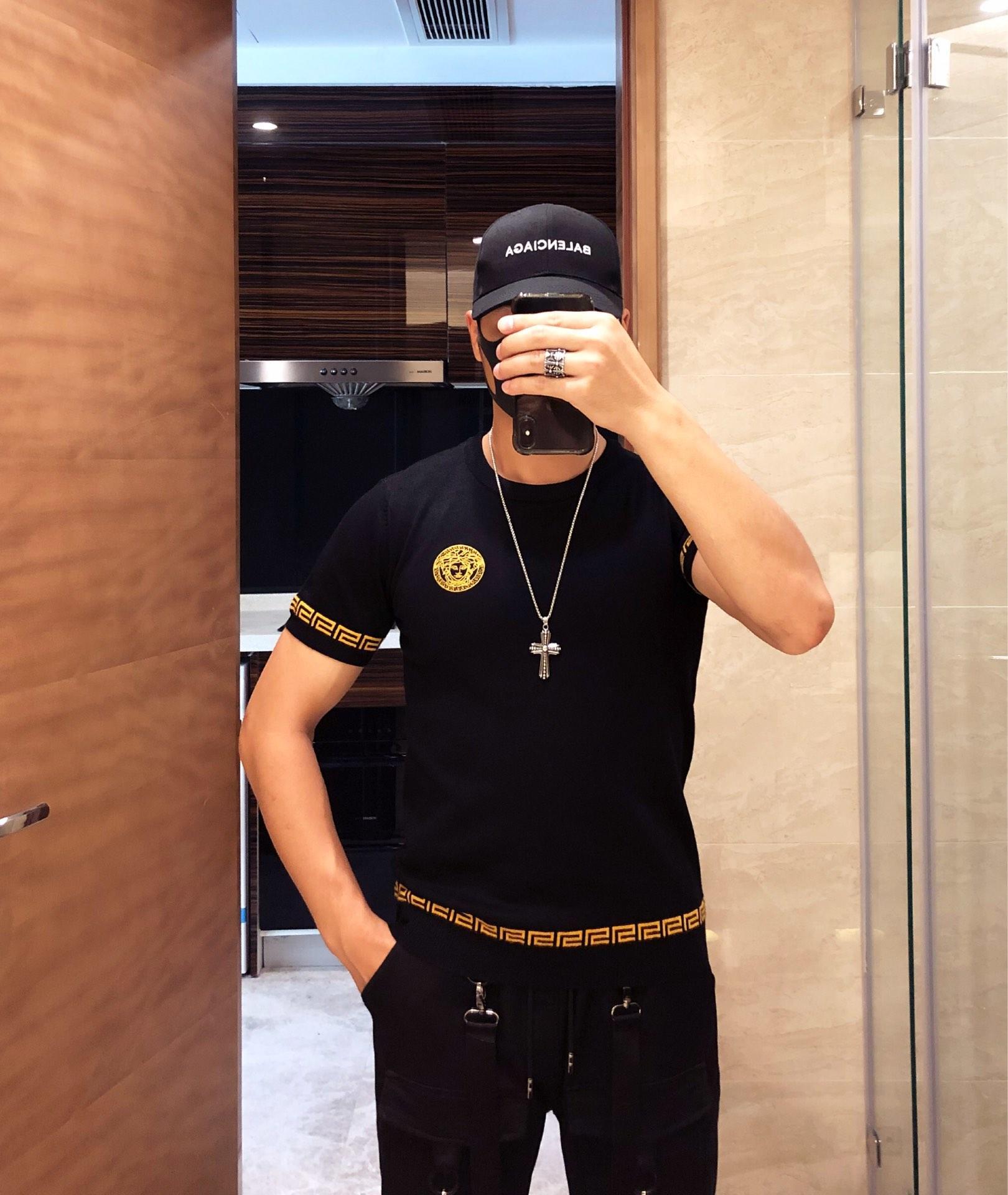 秋冬短袖毛衣Versace范思哲20