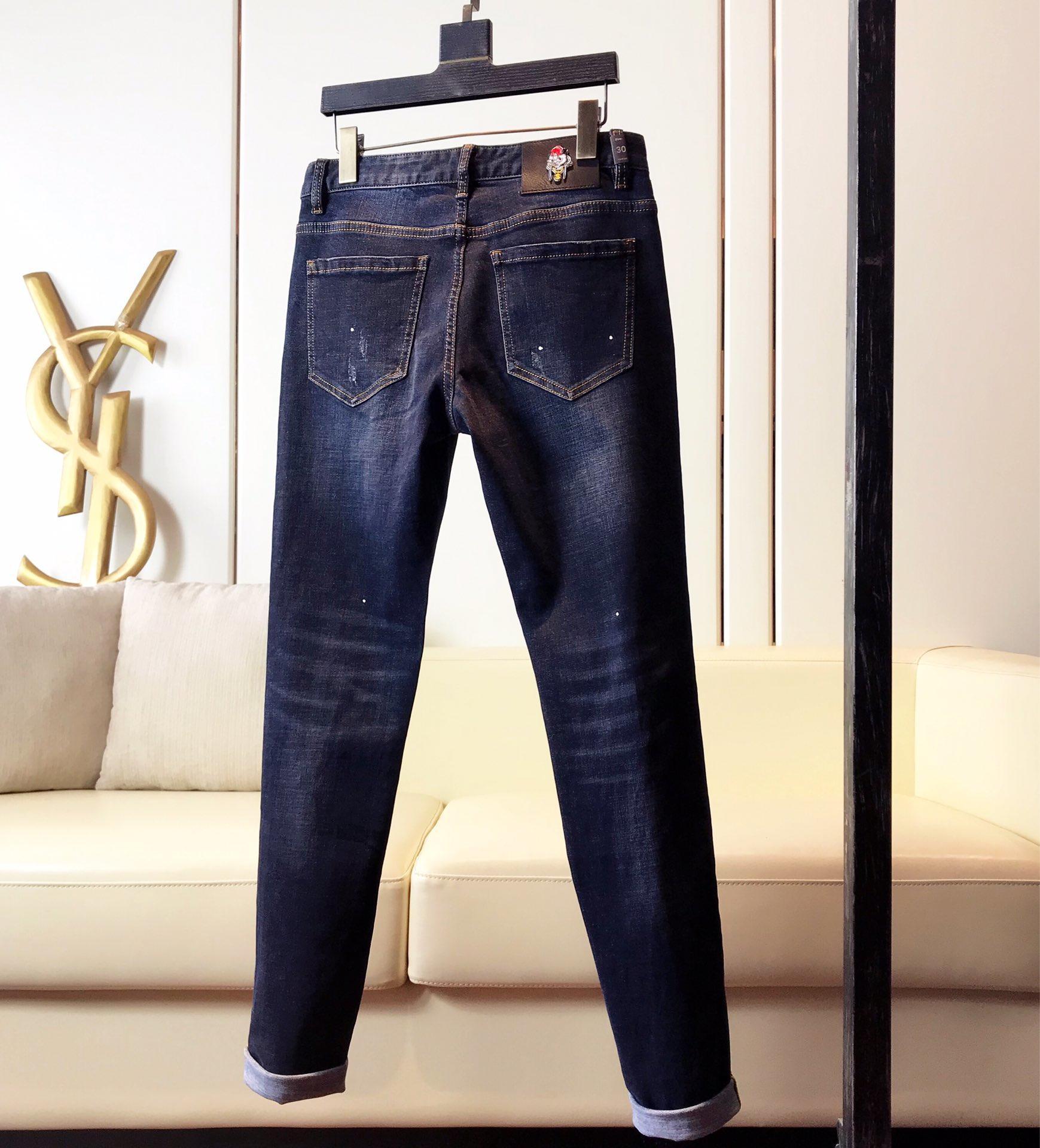 高端牛仔裤DG杜嘉班纳顶级进口原版牛