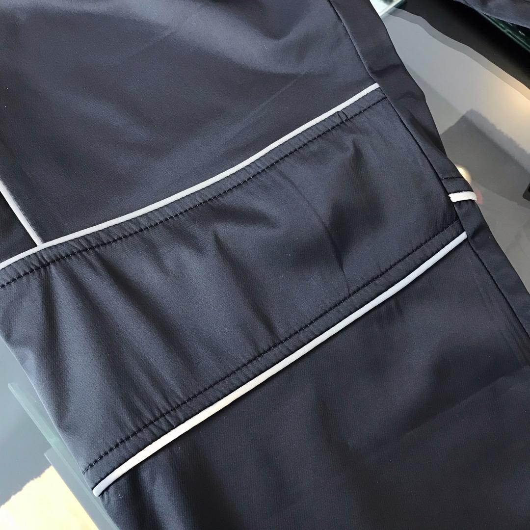 -巴黎世家新品初秋薄款舒适速干休闲裤