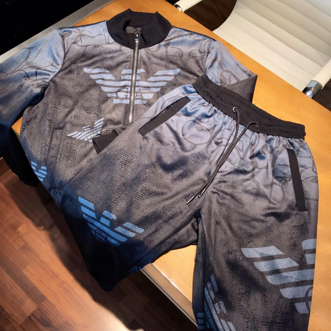 金丝绒套装Armani阿玛尼专柜新款