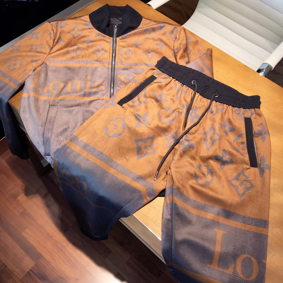 金丝绒套装LV路易威登专柜新款套装原