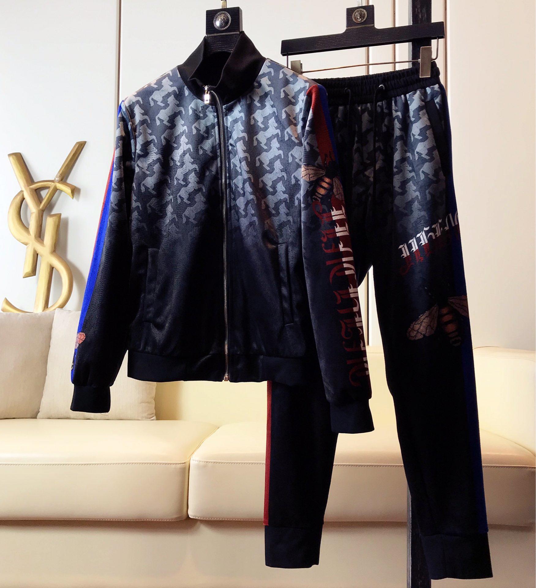 金丝绒套装Gucci古奇专柜新款套装