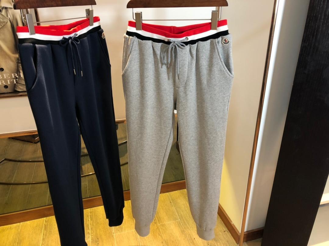蒙口运动裤版型超好面料裤子的灵魂太高