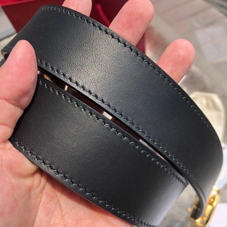 Ferragam纯东莞货  NFC芯片 五金纳米电镀商务休闲腰带(图7)