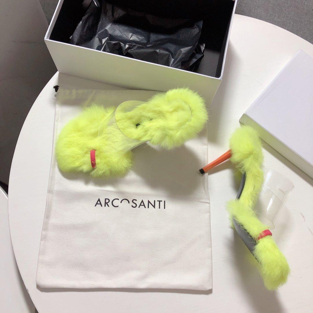 网红款Arcosanti兔毛pvc平