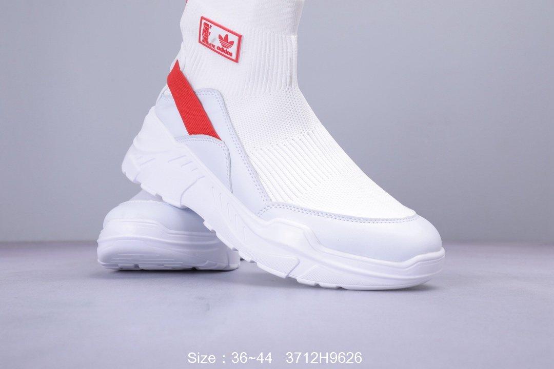 阿迪达斯Adidas秋季袜子鞋嘻哈高