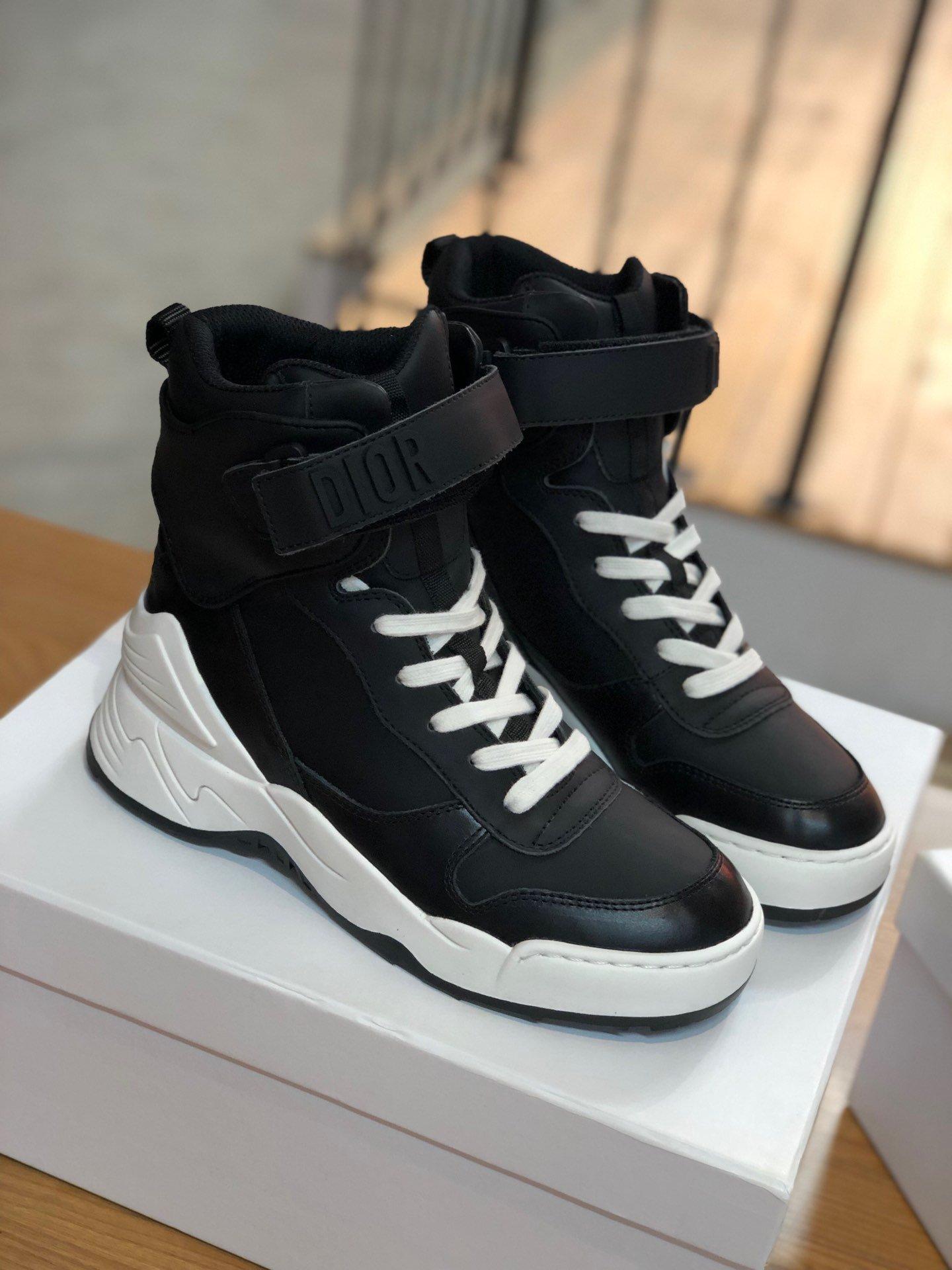 独家高端定制Dior新款潮靴原版一比