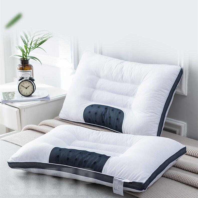 全棉立体决明子磁疗枕