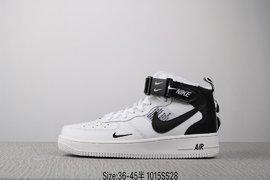 140耐克 Nike AIR Force 1 MID 07 LV8 空军一号 潮流时尚板鞋Size3645 编码1015SS2