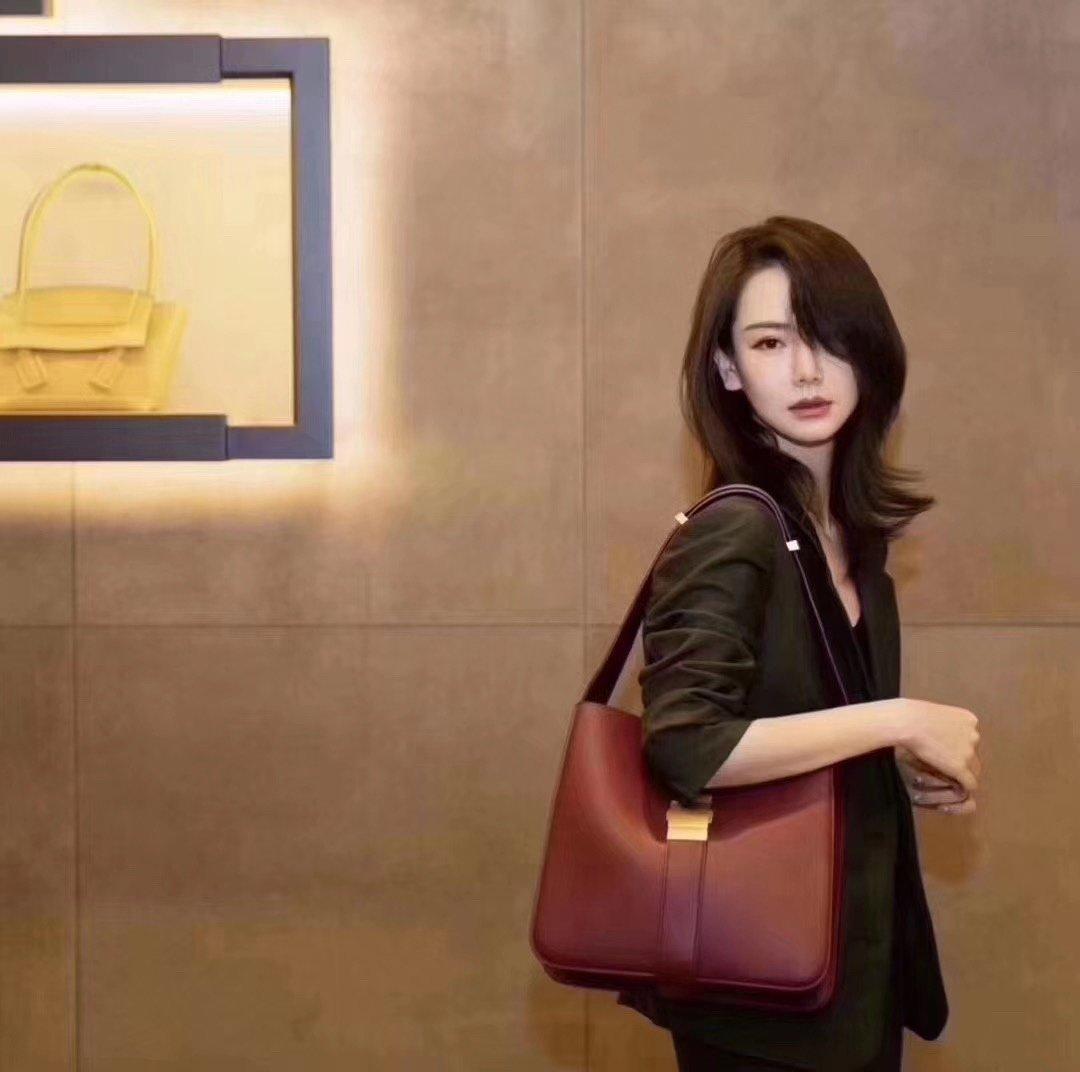 Bottega Veneta宝提嘉/BV 19新款marie手袋斜跨包 (图5)