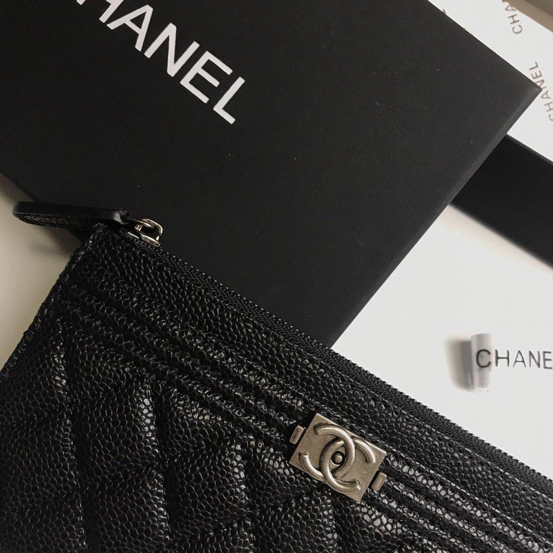Chanel香奈儿钱包全皮 专柜款式(图2)