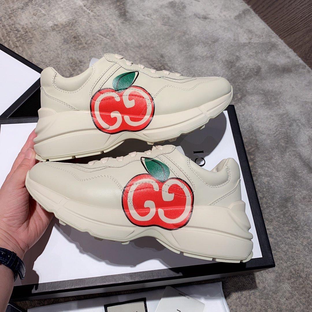 Gucci全新升级 小脏鞋时尚休闲老爹鞋男女款专柜同款(图13)