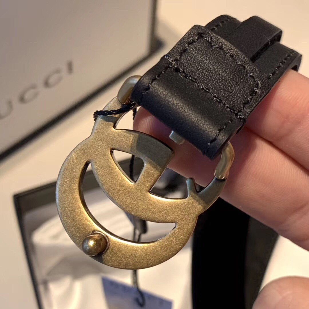 Gucci古奇经典款女款皮带 女士腰带(图7)