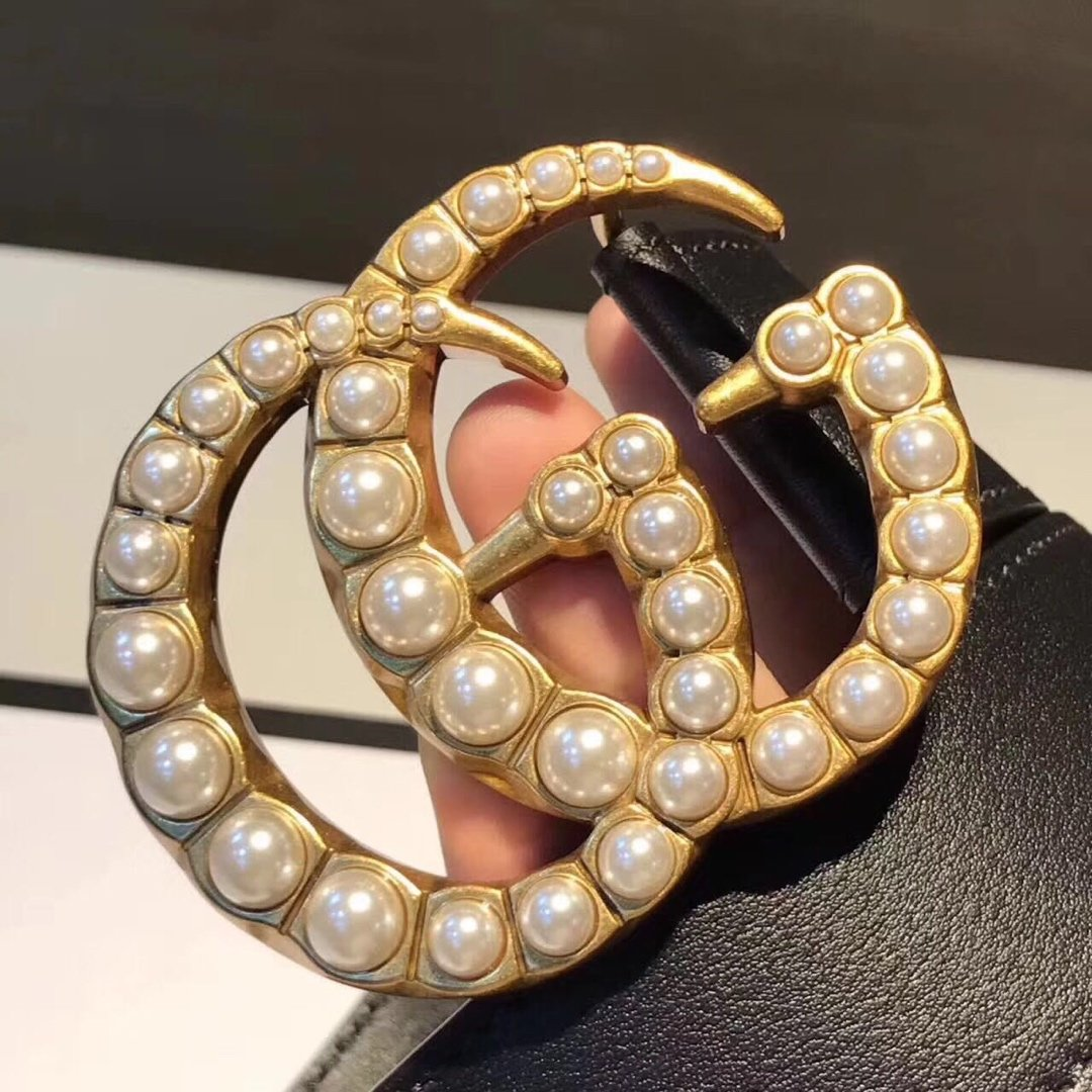 Gucci古奇经典款女款皮带 女士腰带(图3)