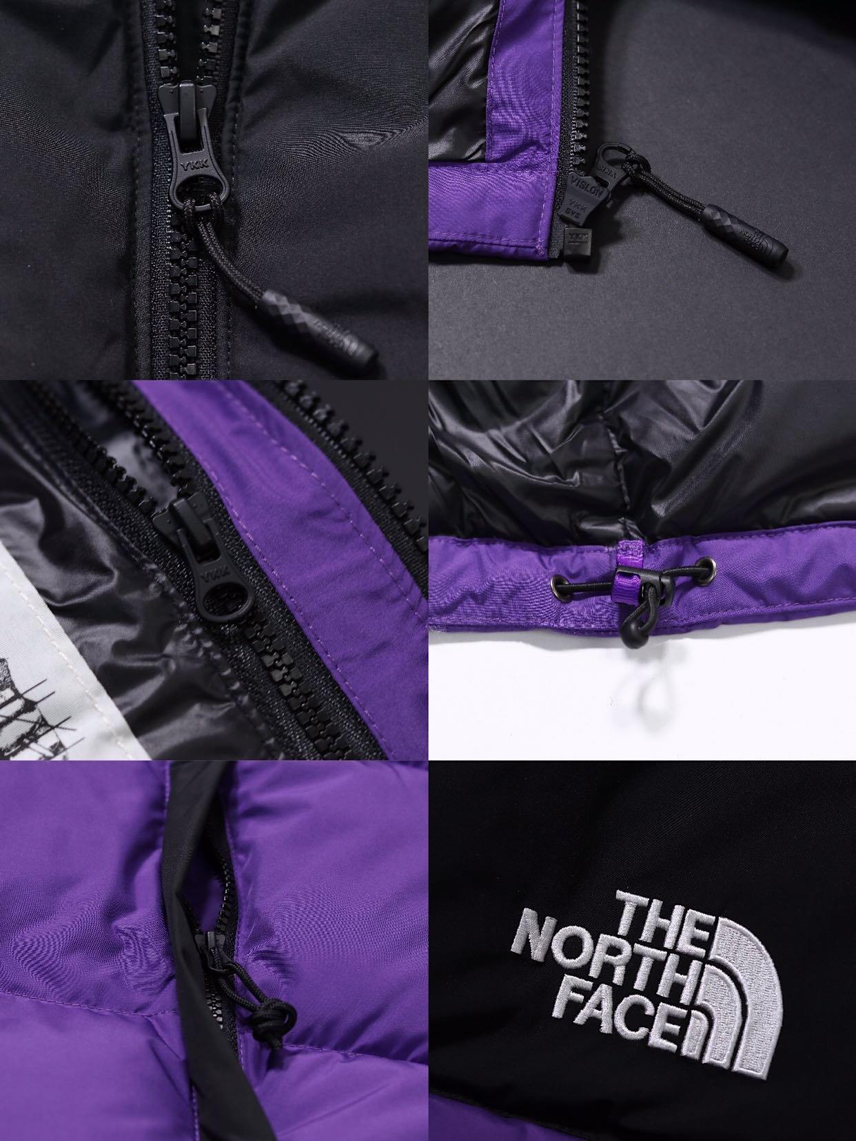 """?680  """"超级经典的一款北面主打短款羽绒服,高版本他来了✔️""""       The North Face 1992 Nuptse Jacket Asphslt Black 北面羽绒服 美版®️。侃爷无限上身带货款,年年都是经典好卖的款!!!此款最强版本到货,品质堪比美代原货!!细节淋漓尽致,四层防钻绒!!全部原版一致出货,定制辅料,全套定制洗唛吊牌带货号!!为什么发的贵?优选鸭绒区别市场滥竽充数的通货!!真700蓬!!细节见真章,请老板们看清实拍~颜色   紫色  黑色  尺码   XS  S  M  L  XL 尺寸推荐  178cm  115J上身M宽松。"""