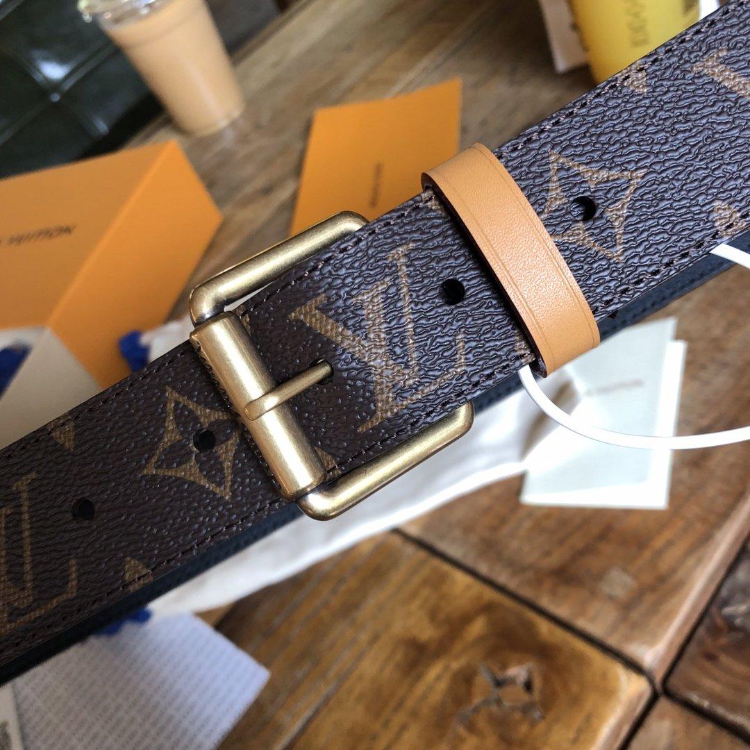 Louis  Vuitton独家免税店渠道货路易 老花系列 腰带(图2)