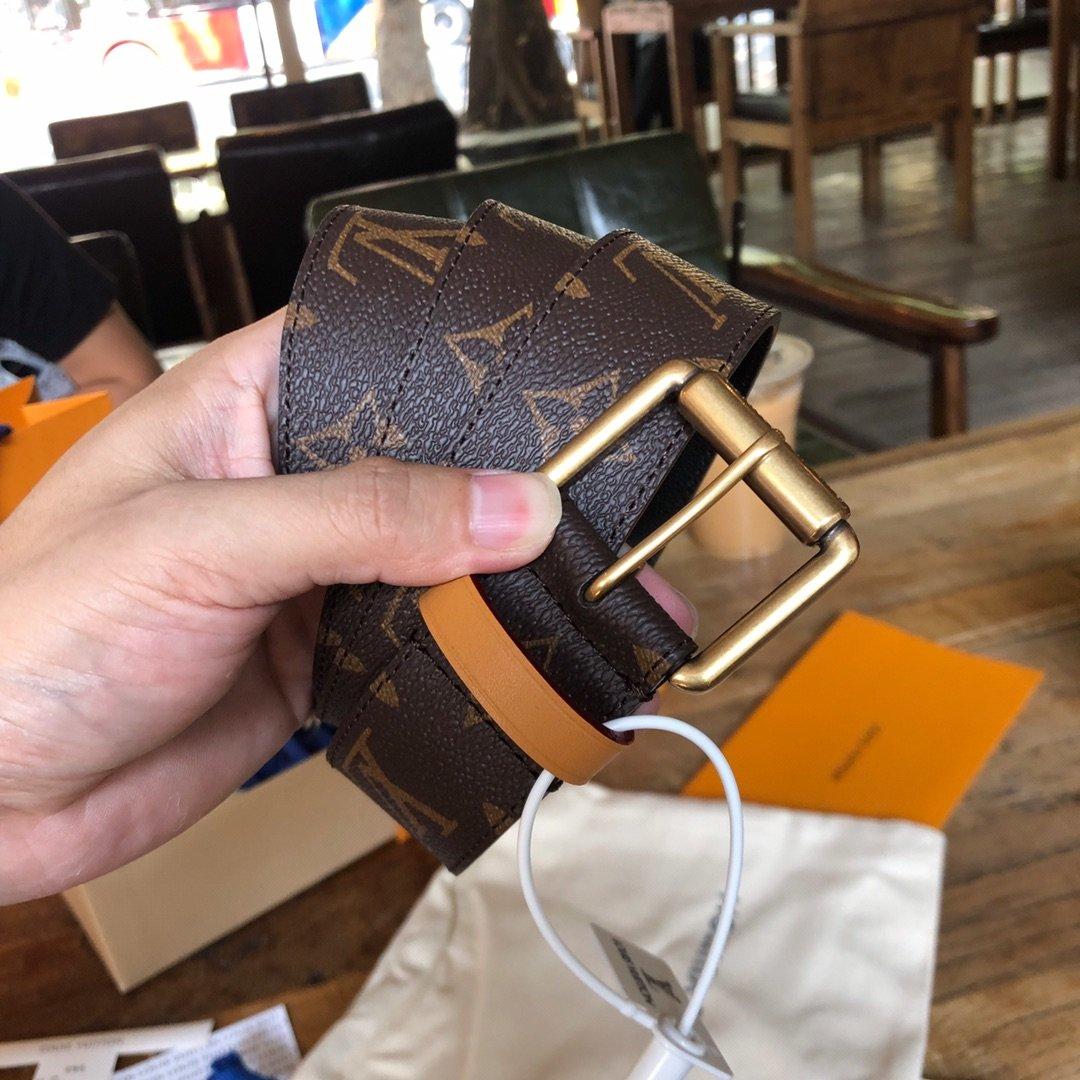 Louis  Vuitton独家免税店渠道货路易 老花系列 腰带(图5)