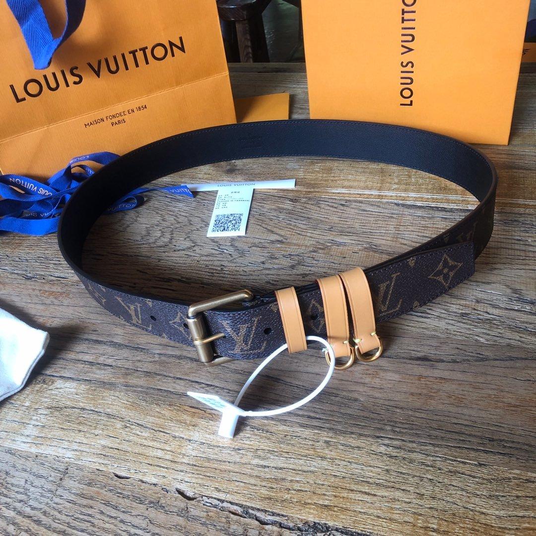Louis  Vuitton独家免税店渠道货路易 老花系列 腰带(图10)